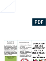 Conociendo Los Antibioticos