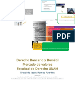 Derecho Bancario y Bursátil