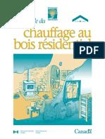 CANADA - Guide de Chauffage Au Bois Résidentiel