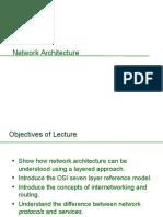 Network Architecture Lecture