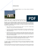 Fundamentals of Gas Pipeline Metering Stations