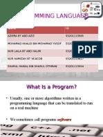 (Group 5) Programming Language (1)