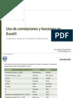 Manual Para Uso de Correlaciones en Excel