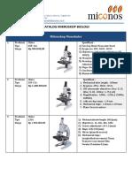 Katalog Mikroskop Biologi (n)