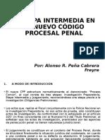 Etapa Intermedia en El Nuevo Codigo Penal