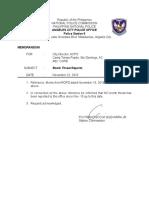 22 November 2016 Bomb Threat