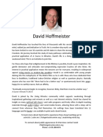 About David Hoffmeister