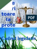 Aspecte Legislative Referitoare La Protecţia Mediului