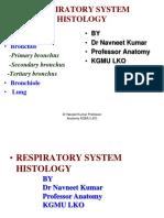 A Respiratory System Histology 16-12-14