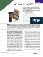 Blighter Revolution 360 Radar Fact Sheet Bss 0209