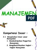 Pengantar Manajemen Industri