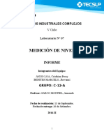 Medicion de Nivel- Informe 7