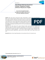 Determinan Belanja Modal Dan Konsekuensi Terhadap Pendapatan Per Kapita