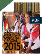 Informe de Gestion Ambiental y Social 2015 1