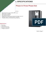 I-power T-4003 Series Data Sheet (900-021 to 900-033) V1
