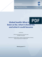 SHSOP WP 2 Ooms Global Health