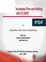 fluent two phase flow