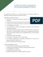15. Criterios Para Elaborar Programaciones