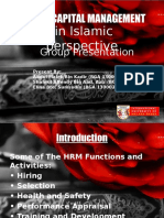 HCM in Islamic Perspective