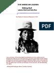 Chief Sitting Bull - Native American Legends