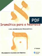 Humberto Gomes de Freitas - Gramática para o Hebraico...uma abordagem Pragmática