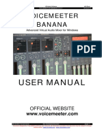 VoicemeeterBanana_UserManual