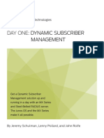 DO DynamicSubscriberMgmt