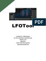 LFOTool 1.5 Manual
