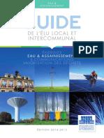 Fnccr - Guide Elu - Eau 2014