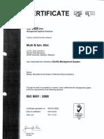 Translite Busduct UL Registered Firm Certificate
