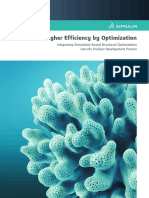 Higher Efficiency by Optimization in Structure