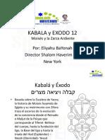 Kabala y Exodo 12