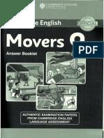 Movers 9_Answer Booklet_más Pequeño