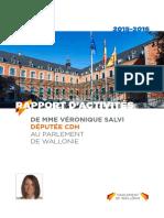 Rapport parlementaire de la députée Véronique SALVI - session 2015:16