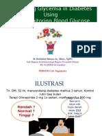 Pemantauan Kadar Glukosa Darah Mandir Mei 2012