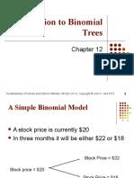 Binomial Pricing Method