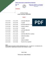 2015 2016 Structura an Licenta