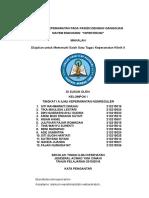 Bab i, II, II, IV, Dan IV Askep Hipertiroidisme