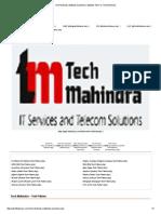 Tech Mahindra Aptitude Questions _ Aptitude Test for Tech Mahindra