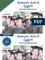 Nebosh Unit D Coach