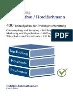 Top-Prüfung Hotelfachfrau / Hotelfachmann