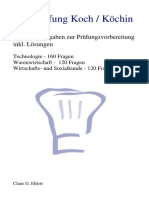 Top-Prüfung Koch / Köchin