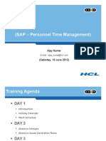 Personnel Time Management Presentation