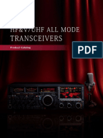 Yaesu - Leaflet Hf Vuhf All Mode Transceivers