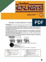 Surface crack Detection