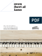 Beethoven y Schubert Al Fortepiano_F.juan March-2016