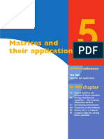 Ch 5 Matrices and Applications