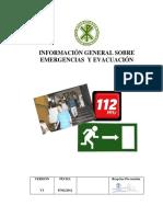 00.- Informacion General Sobre Emergencias y Evacuacion v