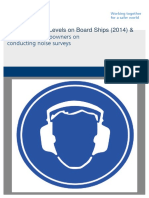 Code on Noise Levels on Board Ships (MSC.337(91)) With Guide for Noise Survey (2014)