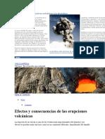 Cómo Afectan Las Erupciones Volcánicas a La Atmósfera
